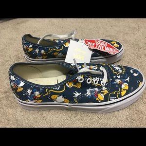 44b392edce Vans Shoes - Brand NEW Donald Duck Vans - disney size 8 unisex